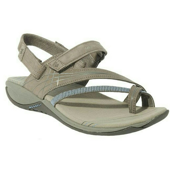 Sport Gray Freesia Blue Sandals 7 Merrell 5 kNwO08nPX